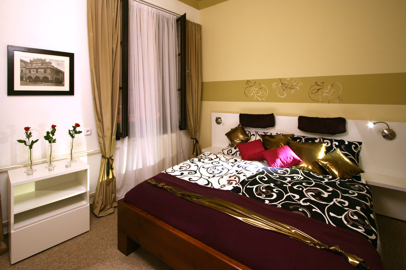 Pokoj v hotelu v Třeboni