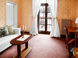 Žižkovy lázně - Obývací pokoj - svatební apartmá
