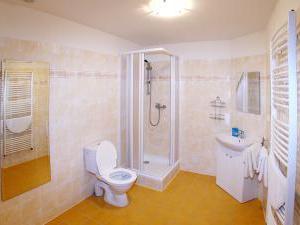 Penzion u Chodského hradu **** - Koupelna - součást pokojů