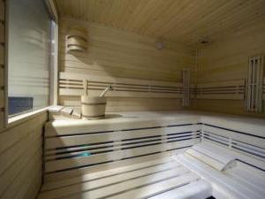 Vila Jiřinka - Ubytování hotel wellness penzion Luhačovice - Sauna ve welnes hotelu Vila Jiřinka