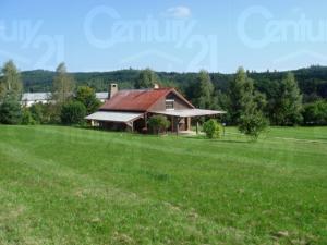 Ranch Veselíčko - Pohled na chatu Ranch Veselíčko ve Slavonicích