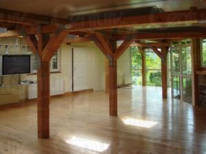 Ranch Veselíčko - Společenská místnost v ranči Veselíčko ve Slavonic
