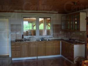 Ranch Veselíčko - Kuchyňská linka ve zděném domě na Jindřichohradeck
