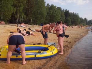 Ubytování u Fořtů Veselí nad Lužnicí - hlavní pláž pískových jezer
