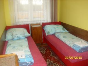 Ubytování u Petry a Milana - červený pokojík