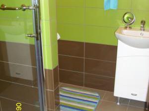 Ubytování u Petry a Milana - apartmán koupelna