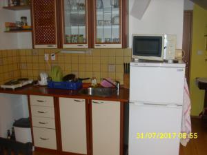 Ubytování u Petry a Milana - kuchyňka podkroví