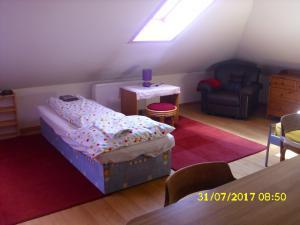 Ubytování u Petry a Milana - fialový pokoj
