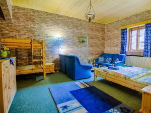 Hotel Pošta - Hotel Pošta Černý Důl - Čtyřlůžkový pokoj