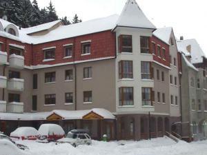 Apartmány Jáchymov - Zimní pohled na apartmány Jáchymov
