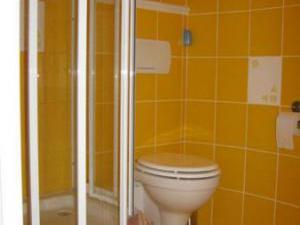 Apartmány Zderaz - Koupelna v Apartmá penzionu Zderaz