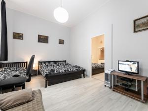 Apartmán Letná **** - ložnice / obývací pokoj