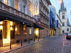 ANTIK CITY - Pohled na pražský hotel Antik City