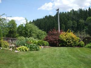 Chalupa Dana - Pohled na zahradu.
