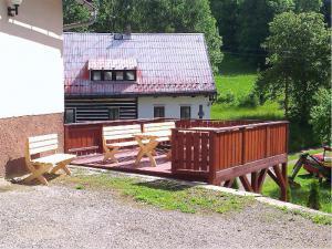 Horská chata u Jagušky - Horská chata u Jagušky - terasa na grilování
