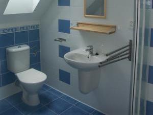 Chalupa Zlatník - koupelna - pokoj č. 2