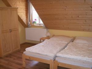 Chalupa Zlatník - ložnice - apartmán č. 5