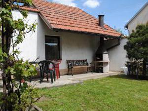 Chata Lucie - 30 minut od Prahy - Chata Lucie, Mnetěš - venkovní posezení s grilem