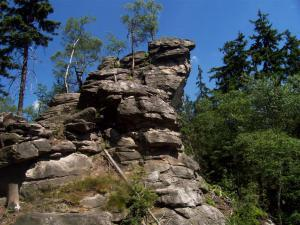Chalupa Za Humny - Chalupa Za Humny, Žďárské vrchy, Vysočina - Devět skal
