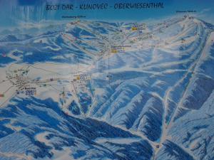 Chata Borůvka - sjezdovky na Božím Daru, Klínovci a Oberwiesenthal