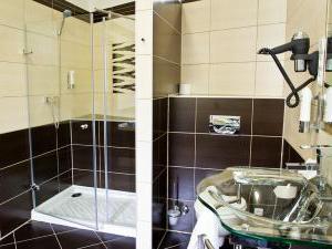 Hotel ARTE - Pokoj DeLUXE - koupelna