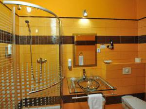 Hotel ARTE - Dvoulůžkový pokoj Standard - koupelna