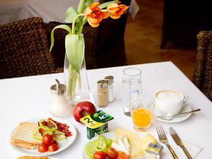 Hotel ARTE - Příklad snídaně