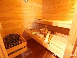 Chalupa Budín - Chalupa Budín Rybníky, Tomáš Dušek, sauna v přízem