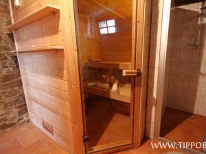Chalupa Budín - Chalupa Budín Rybníky, sauna v přízemí
