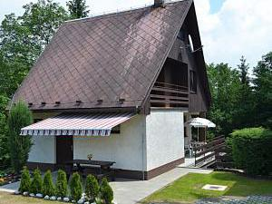 Chata u hradu Bouzov
