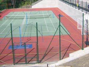 Pension Borůvka - Víceúčelové sportoviště v těsné blízkosti pensionu