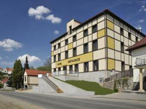 Hotel Olberg Olomoučany - Čelní pohled na hotel