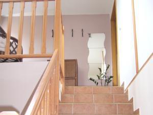 Villa Amenity Světlá nad Sázavou  - schodiště do patra