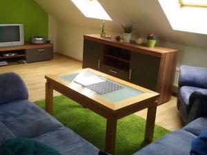 Villa Amenity Světlá nad Sázavou  - obývací místnost