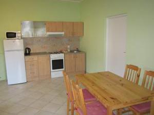 Penzion Mlejn - jídelní kout apartmánu