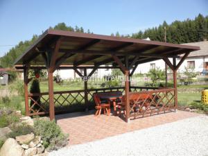 Penzion Mlejn - venkovní posezení