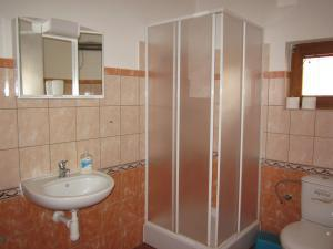 Penzion Mlejn - koupelna apartmánu
