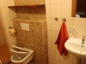 U TŘÍ RŮŽÍ - vlastní koupelna, toaleta, sprchový kout