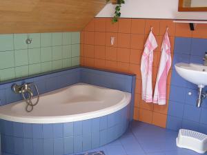 Apartmány  POD LESEM- podkrovní apartmán C - Apartmány POD LESEM- apart. C, koupelna