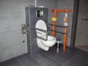 Apartmány POD LESEM- bezbariérový apartmán A - Apartmány POD LESEM- apart. A, wc