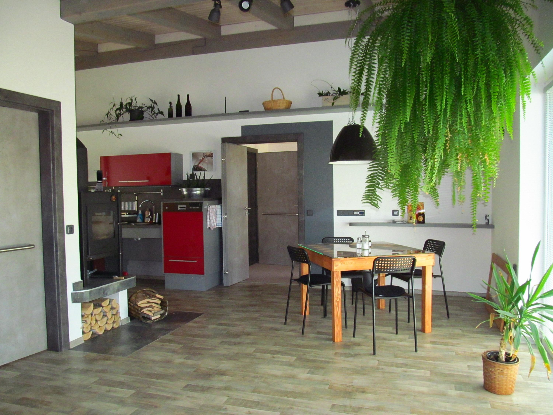 Apartmány POD LESEM- apart. A, jídelní část