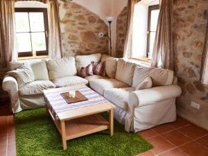 Chalupa Na peci - Pohodlná pohovka