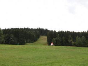 Chalupa Orlické Záhoří - Sjezdovka Jadrná, 200 m od chalupy