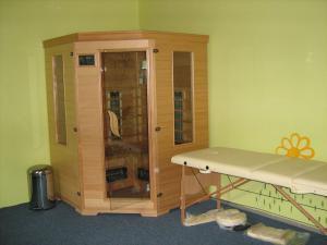Pavilon v Ráji - Infra sauna