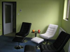 Pavilon v Ráji - odpočívárna v sauně