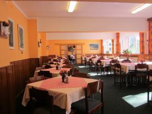 Hotel U PŘEHRADY Rezort - hotelová jídelna