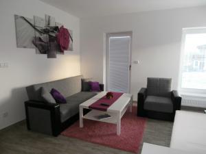 Apartmány na Rozcestí - obývací pokoj
