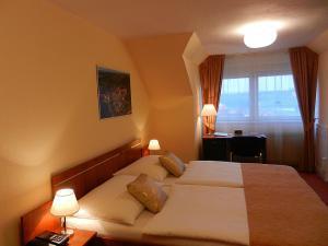 Hotel Tábor - Dvoulůžkový pokoj s manželskou postelí či odd.l.