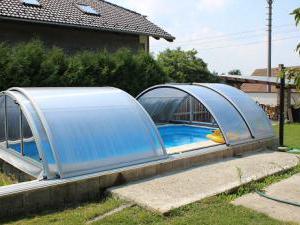 Penzion a restaurace U Čerta Čtyřkoly - bazén