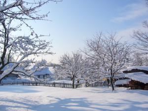 Chalupa U Bendů - v zimě